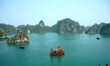 Cho thuê xe 16 chỗ du lịch tắm biển Cát Bà