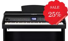 Khuyến mãi piano điện Casio Yamaha Roland đến 25%