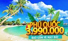 Tour đảo Phú Quốc 3N2Đ - Bao vé máy bay