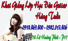 Học đàn guitar đệm hát, học đàn guitar ở Tphcm