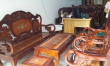 Salon gỗ phòng khách đẹp nhất, rẻ nhất
