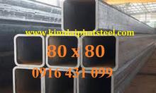 Thép hộp 80x80, Thép hộp 80x80x1.4ly, 80x80x1.5ly