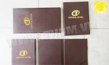Xưởng sản xuất bìa menu, bìa tính tiền, trình ký