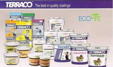 Nhà phân phối sơn Terraco uy tín giá rẻ