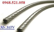0913521058 bán dây cáp inox bọc nhựa + tăng đơ ống.