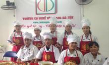 Xét tuyển trung cấp nấu ăn, cao đẳng nghề nấu ăn