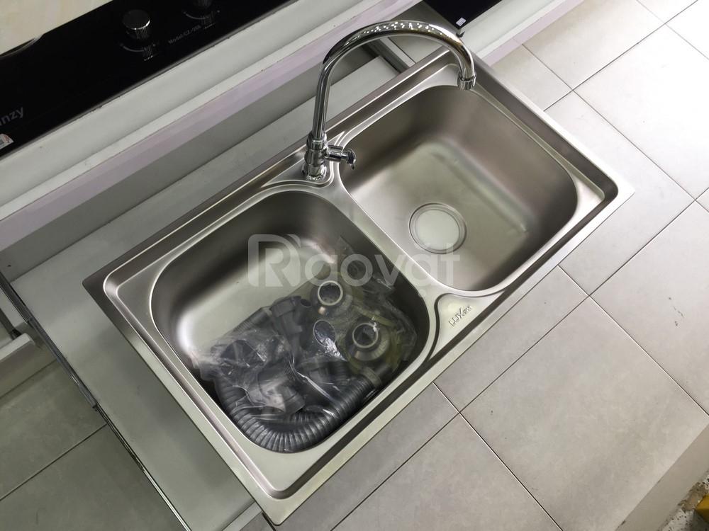 400 bộ chậu rửa bát - vòI rửa inox - mớI 100%