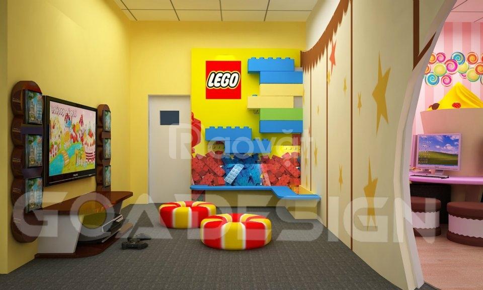 Thiết kế khu vui chơi cho trẻ em
