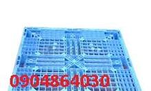 Pallet nhựa đã qua sử dụng  KT 1100x1100x150mm