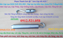0912.521.058 bán tăng đơ ống inox 304 cầu thang