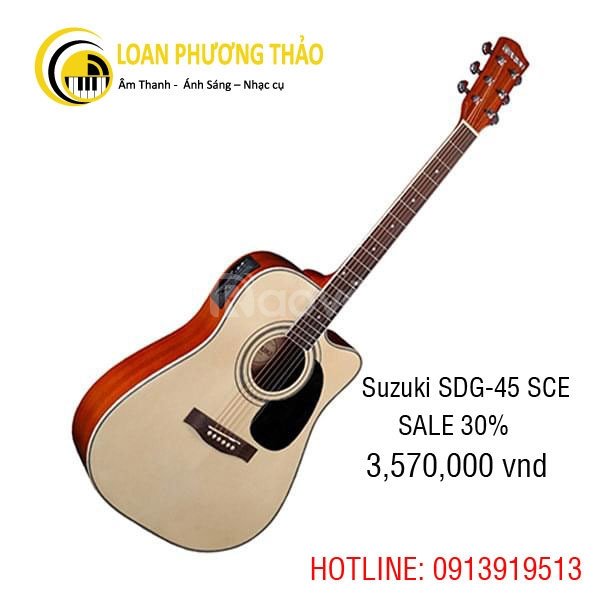Guitar Suzuki SDG-45SCE KM 30%