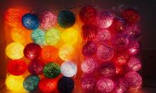 Đèn cotton ball - Đèn trang trí - Giá 165k