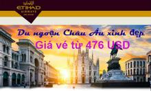 Hãng hàng không Etihad Airways khuyến mãi
