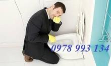 Thợ xử lý mùi hôi cống nhà vệ sinh chung cư