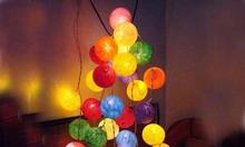 Mua đèn trang trí cotton ball ở Hà Nội