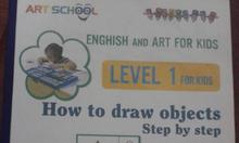 Bán sách, bán game và dạy vẽ - tiếng anh