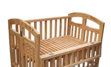 Cũi gỗ thông XK 70 X 95 X 90 cm