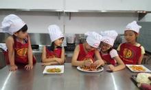 lớp học nấu ăn cho trẻ em tại hà nội