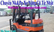 thanh lý xe nâng động cơ FD30 hiệu komatsu