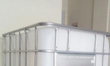 Tank nhựa trắng IBC 1000 lít