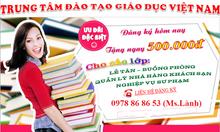 Cần học gấp chứng chỉ buồng phòng tại Đà Nẵng