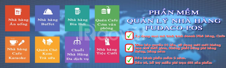 Phần mềm quản lý quán cafe FUDACO Tại Phú Thọ