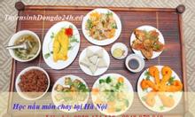 Học nấu món chay ở đâu Hà Nội- chọn thời gian học