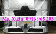 Tank IBC 1000 lít mới chứa hóa chất