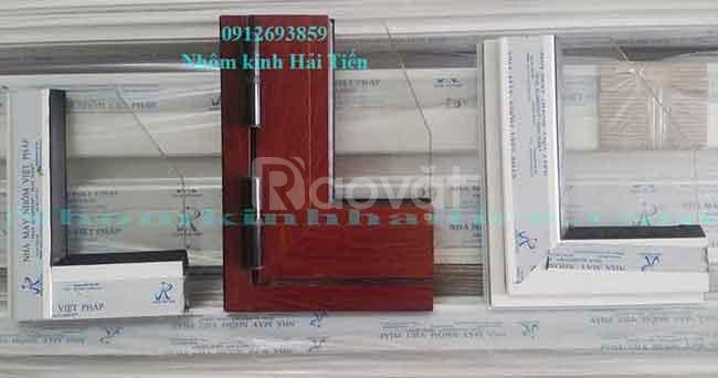 Cửa nhôm Việt Pháp hệ 450 - giá rẻ, chuyên nghiệp