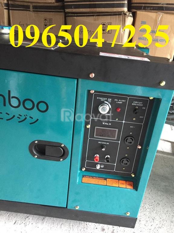 Máy phát điện chạy dầu BamBoo công nghệ Nhật