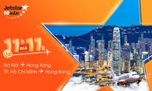 Săn vé Jetstar 11.000 VNĐ, vui chơi Hong Kong!