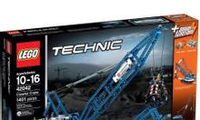 Xe cẩu bánh xích siêu trọng (LEGO Technic 42042)