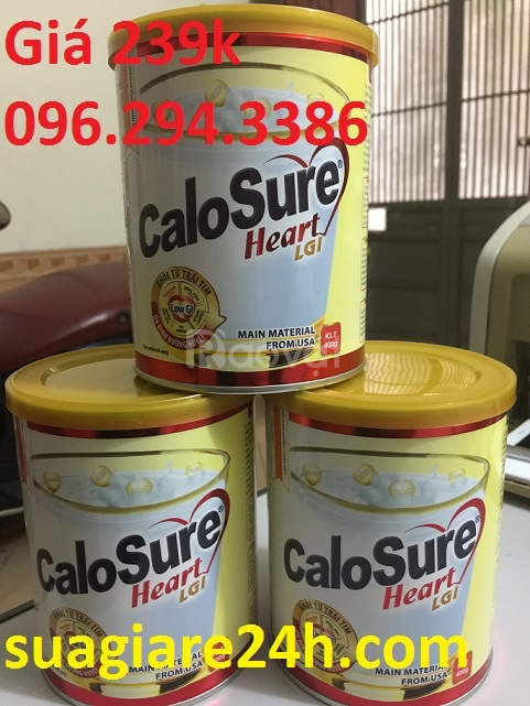 Sữa calosure heart giá 239k rẻ hạt dẻ