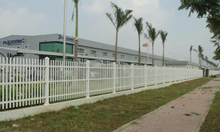 Hàng rào nhựa lõi thép Upvc
