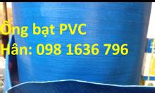 Phân phối ống bạt xanh xả nước - ống bạt PVC