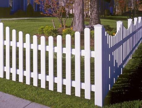 Hàng rào nhựa lõi thép U PVC