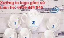 Xưởng in logo bộ ấm trà giá rẻ tại Quảng Ngãi