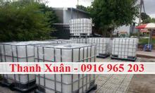 Bán tank nhựa IBC 1000 lít đựng hóa chất