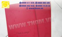 Xưởng sản xuất bìa simili, bìa menu, trình ký..