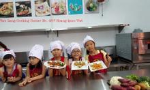 Dạy trẻ nấu ăn uy tín  0918705172