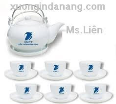 Sản xuất bộ ấm trà , In logo bộ ấm trà tại Đà Nẵng