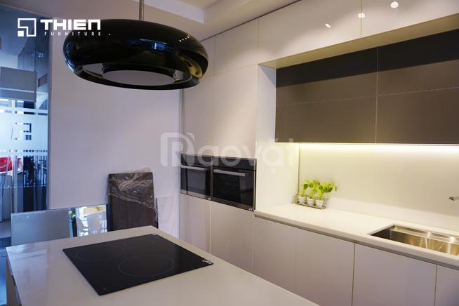 Thiên Furniture - Làm tủ bếp Acrylic ở Hà Nội