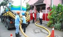 Hút bể phốt hầm bể phốt tại huyện Cao Phong