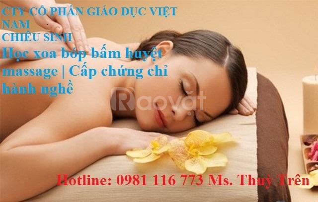 Học bấm huyệt massage