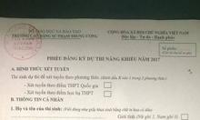 Xét học bạ đợt 1 học Cao Đẳng Mầm Non SPTW 2017