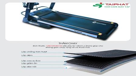 Máy chạy bộ điện đa chức năng TF-07AS giá cực rẻ