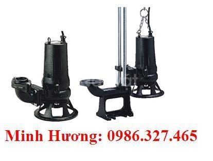 Máy bơm nước thải tsurumi 5.5kW