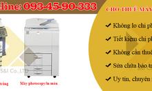 Dịch vụ cho thuê máy photocopy màu, máy in màu