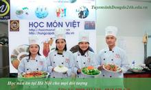 Tuyển sinh lớp học nấu ăn cơ bản tại Hà Nội