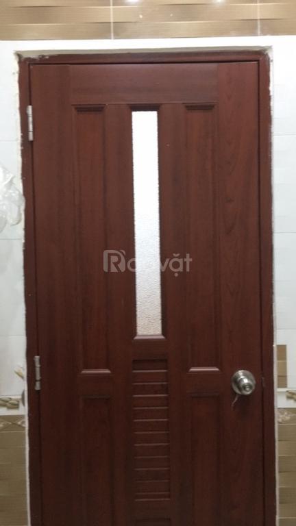Cấu tạo cửa nhựa PVC giả gỗ, cửa nhựa giả gỗ